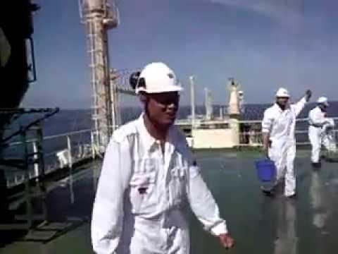 Ice Bucket Challenge - Al Marrouna at Sea