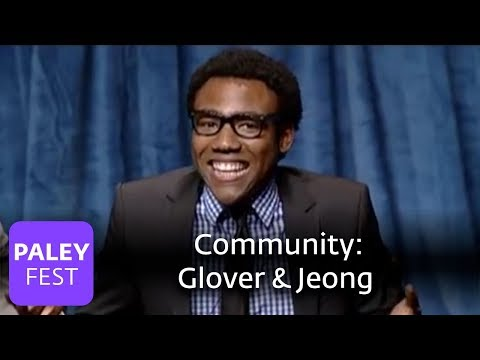 Community - Donald Glover & Ken Jeong (Paley Center, 2010)