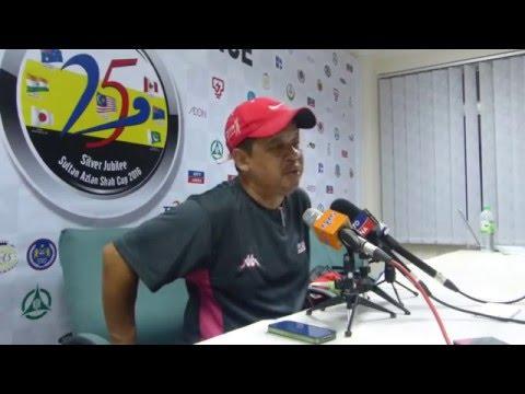 Sultan Azlan Shah Cup 2016: Day 7: Malaysia Post Match Press Con
