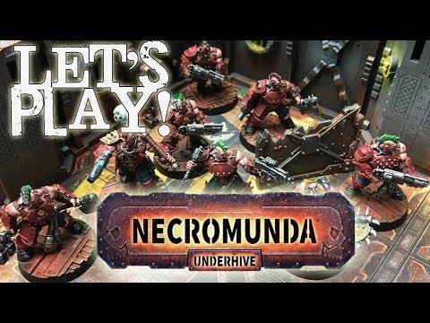 Let's Play! - Necromunda: Underhive (2017) by Games Workshop