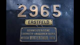 Locomotive exhibition in the Swiss Transport Museum (Lucerne)