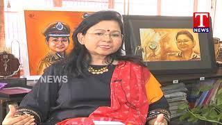IG Swathi Lakra About Operation Smile- Operation Muskan - F to F  Telugu - netivaarthalu.com