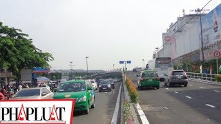 PLO - Cổng sân bay Tân Sơn Nhất thông thoáng khi có cầu vượt