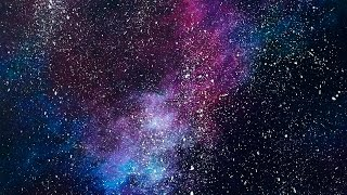 Acrylic Speed Painting   Galaxy IV
