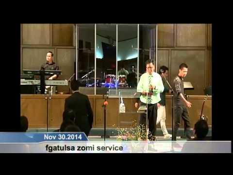 [FGATulsa]#1099#Nov 30,2014 Zomi Service (Pastor David Kham)