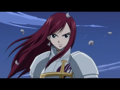 Misc Cartoons - Fairy Tail - Erza Vs Erza