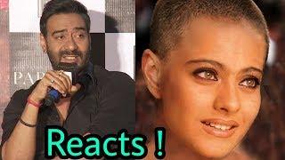 download lagu Ajay Devgan Reacts On Wife Kajol's Latest Haircut Of gratis
