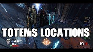 Unusual totem locations with Galena in Quake Champions