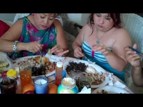 "TRAVEL DIARY JAN 23 2011 ""PATTI'S PARTIES"" CATERS AN INCREDIBLE  MARISCOS DINNER AT OUR HOME"