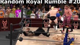 WWE 2K16 Royal Rumble #20 - WWF NXT WCW ECW TNA ROH CZW xWx BJW NJPW Lucha Underground - CAWS CAW