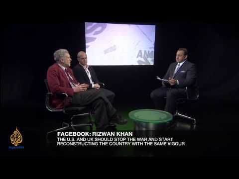 Riz Khan - UK divided over Afghanistan war