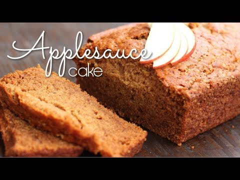 Vegan Applesauce Cake