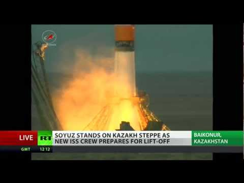 Space Trio: Soyuz flies 'musical crew' to ISS