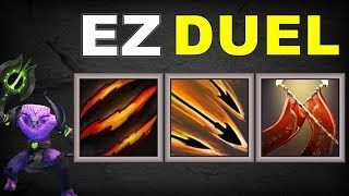 Fast Duel Combo [ Fury Swipes + Strafe + Duel ] | Dota 2 Ability Draft