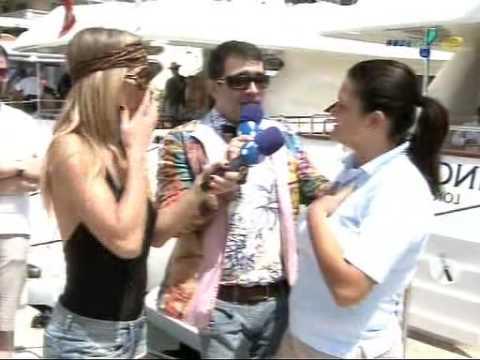 P�nico Na TV: Sabrina Sato e Christian Pior: Rol� Em Monaco: 31/05/09