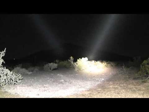 XeVision LEMAX LX70 1400 Meter Beamshot Comparisons 3/3