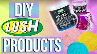 DIY Lush Products: Bath Jellies & Fun Bath Dough