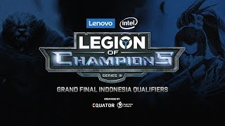 Lenovo Legion of Champions Series III - Grand Finals Indonesia - LIVE!