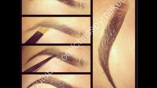 Graduated Brows Tutorial **UPDATED