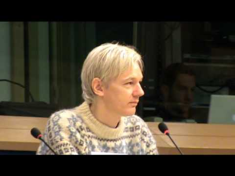 Julian Assange at press conference ALDE Seminar (Self) Censorship 21-06-2010 part 3