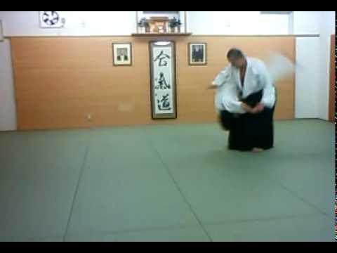 合気道 合気塾 逆半身 片手取り 腰投げ-02 aikido gyakuhanmi katatedori koshinage-02