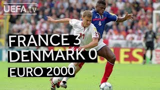 Glorious FRANCE see off DENMARK en route to EURO 2000 victory