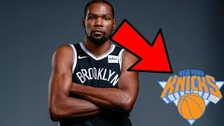 Kevin Durant EXPOSED The New York Knicks
