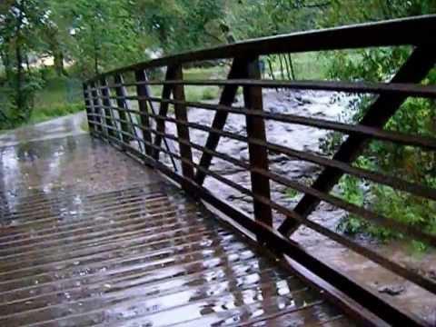 Colorado Springs Fountain Creek Flooding Aug 9, 2013
