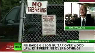 Feds raid Gibson guitar