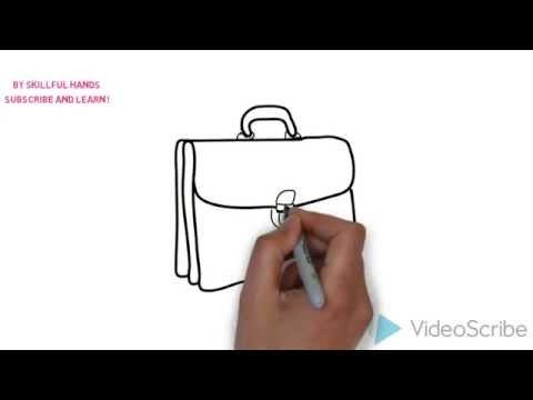 Видео как нарисовать портфель