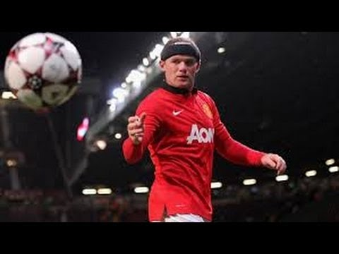 Wayne Rooney - King of Manchester - Skills,Goals, & Assists 2013/14 | HD