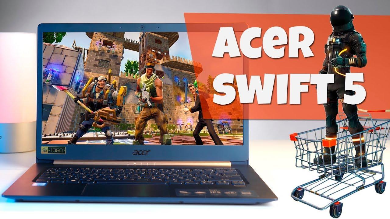 ОЧЕНЬ легкий ноутбук - обзор Acer Swift 5