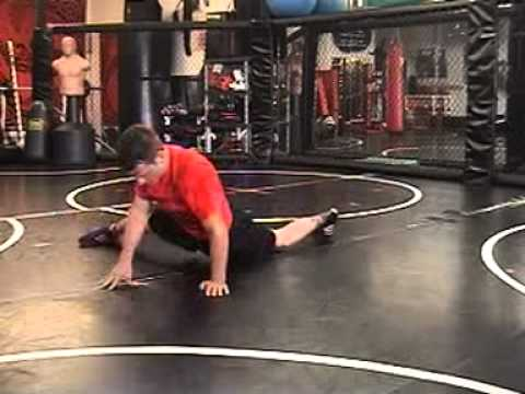 Seraiah Wrestling: Sprawl Training Drill Image 1