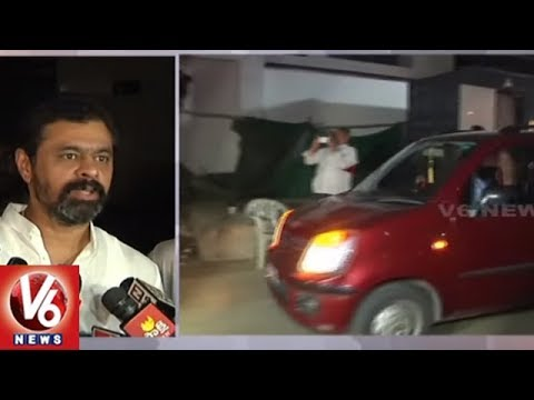 Income Tax Raids Continue Overnight At Andhra TDP MP CM Ramesh Homes, Offices | V6 News