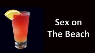 Sex On The Beach Cocktail Drink Recipe
