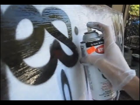 Reskew's Graffiti Tutorial #9 Spraypaint Can control ideas