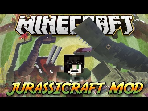 Minecraft ITA - Mod: DINOSAURI & FOSSILI // JurassiCraft Mod. Dinosaurs