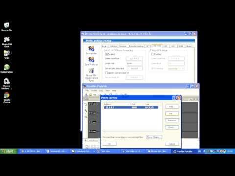PANDUAN TUTORIAL LENGKAP INTERNET GRATIS BEBAS DENGAN SSH PROXIFIER