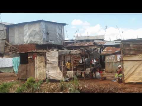 Cheery in Kibera Slum.