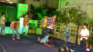 KG Green Meadows New year Singam Dance