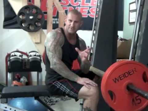 Smith Machine Seated Calf Rasie by Jim Stoppani Image 1