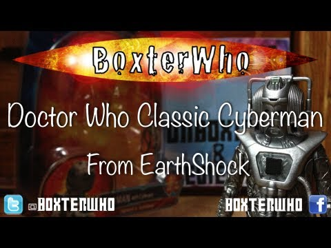 Doctor Who: Classic Cyberman With Cyber gun Unboxing & Review