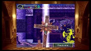 Castlevania Requiem: Symphony Of The Night VS Medusa