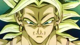 Dragon ball Z Broly - God of War
