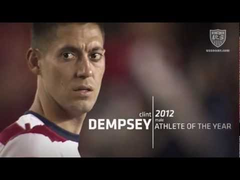 Clint Dempsey: 2012 US Soccer Male Athlete of the Year