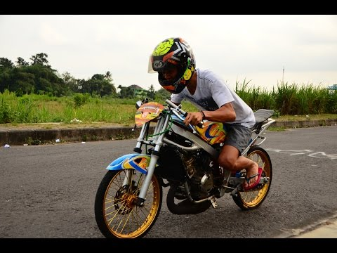 Drag Bike YAMAHA TOUCH Motorcycle Drag Racing  by ICE Kawahara AHRS KYT Majestic indonesia