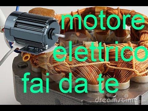 Motore elettrico dc fai da te youtube for Filtro acquario fai da te