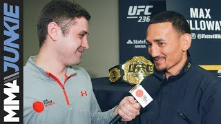 UFC featherweight champion Max Holloway talks to MMA Junkie's Mike Bohn about UFC 236