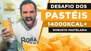 Desafio dos pastéis!! (14.000kcal+)