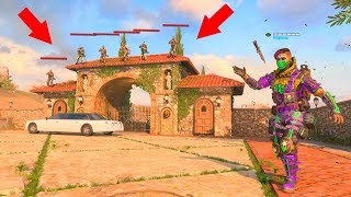 THEY HAD THE BEST GLITCH HIDING SPOT EVER!!! HIDE N' SEEK ON *BLACK OPS 4*